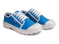 Женские кеды синего цвета