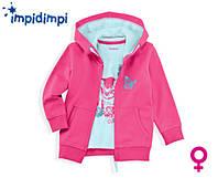 Комплект реглан и толстовка для девочки  Impidimpi Германия рост 74-80, фото 1