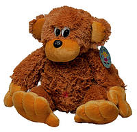 Мягкая игрушка Алина Обезьяна 55 см коричневая