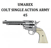 Пневматический пистолет Umarex Colt Single Action Army 45 Legends Nickel, фото 1