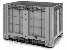 Сплошной контейнер IBOX на полозьях (1200х800х800)