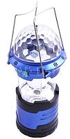 Фонарь кемпинг + лазер диско DR-666, USB Power bank, ак.18650, 3AA