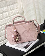 Пудровая женская сумка, фото 1