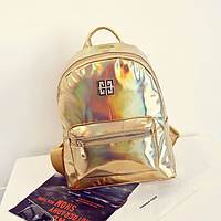 Рюкзак Голограмма золотой, фото 1