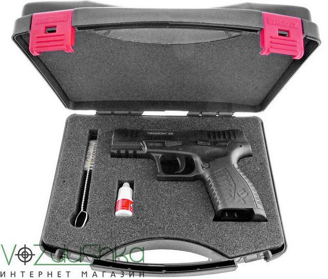 Стартовый пистолет Retay XR в кейсе с аксессуарами