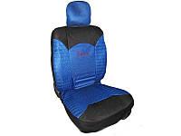 Чехлы на сиденья Racing 907 blue