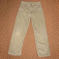 Бежевые вельветовые джинсы на лето Arizona р.116-122 на 7-8 лет