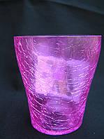 Кашпо стекляное для мини орхидей