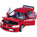 Робот-трансформер - MITSUBISHI EVOLUTION VIII (1:18) 50100 r, фото 2