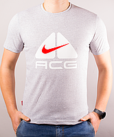 "Светло-серая мужская футболка ""ACG"""