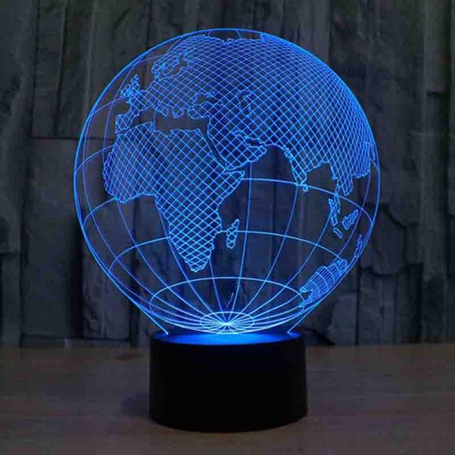 3d светильник ночник