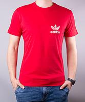 Ярко-красная мужская футболка ADIDAS LITTLE