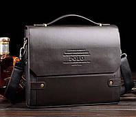 Брендовая мужская сумка Polo 32*26*6 см