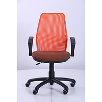 Кресло Oxi АМФ-4, Поинт-70, спинка Сетка оранжевая (AMF-ТМ)