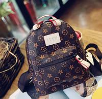 Модный женский рюкзак LV экокожа
