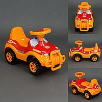 Детская каталка толокар Джипик 3 цвета: красный, оранжевый, серый ORION