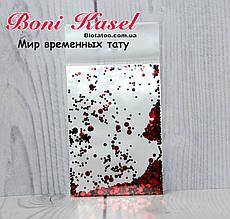 Конфетти (камифубуки) красный с черным