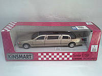 Игра Kinsmart Машина (КТ7001W) 1999 Lincoln Town Car Stretch Limousine
