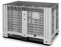 Перфорированный контейнер IBOX на полозьях (1200х800х800)