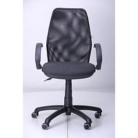 Кресло Oxi АМФ-5, сиденье Квадро-02, спинка Сетка черная (AMF-ТМ)