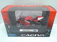 Модель WELLY Мотоцикл Cagiva Mito125 1:18 (19660 PW)