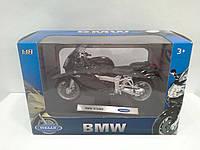 Модель WELLY Мотоцикл BMW K1200S 1:18 (19660 PW)
