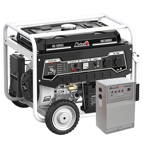 Бензиновий генератор Matari MX10000E-ATS (7,5 кВт)