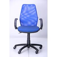 Кресло Oxi АМФ-5, сиденье Квадро-20, спинка Сетка синяя (AMF-ТМ)