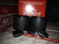 Втулка башмака балансира КАМАЗ <ЕВРО-2> гроднамид (компл. 2шт.) (пр-во ЭЛЕМЕНТ, Россия)