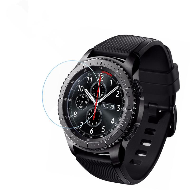 Закаленное защитное стекло для смарт-часов Samsung Gear S3 (RM-770 / R