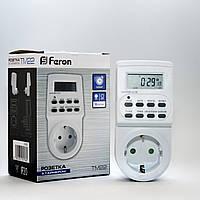 Недельная розетка-таймер с электронным управлением Feron TM22
