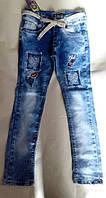 Модные джинсы для девочек опт Турция