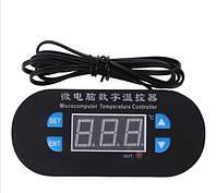 Электронный термостат регулятор температуры с датчиком -55 - 120℃ 12В W2308