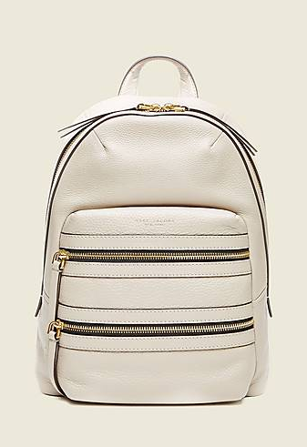 Рюкзак Marc Jacobs Leather Biker Backpack white M0008134