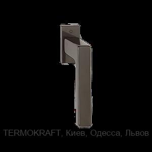 Оконная ручка Austin 32-42mm. 90° Secustik F9016 коричневая