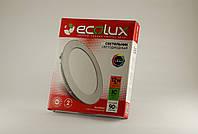 Led Светильник  круглый ECOLUX 12W 220V встраиваемый (LPC175-12)