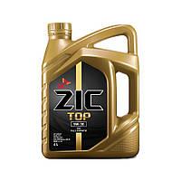 Моторное масло  ZIC  TOP 5W-30 4л.(Ю.Корея)