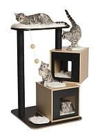 Когтеточка Hagen Vesper V-Double для кошек, 65 х 65 х 104 см