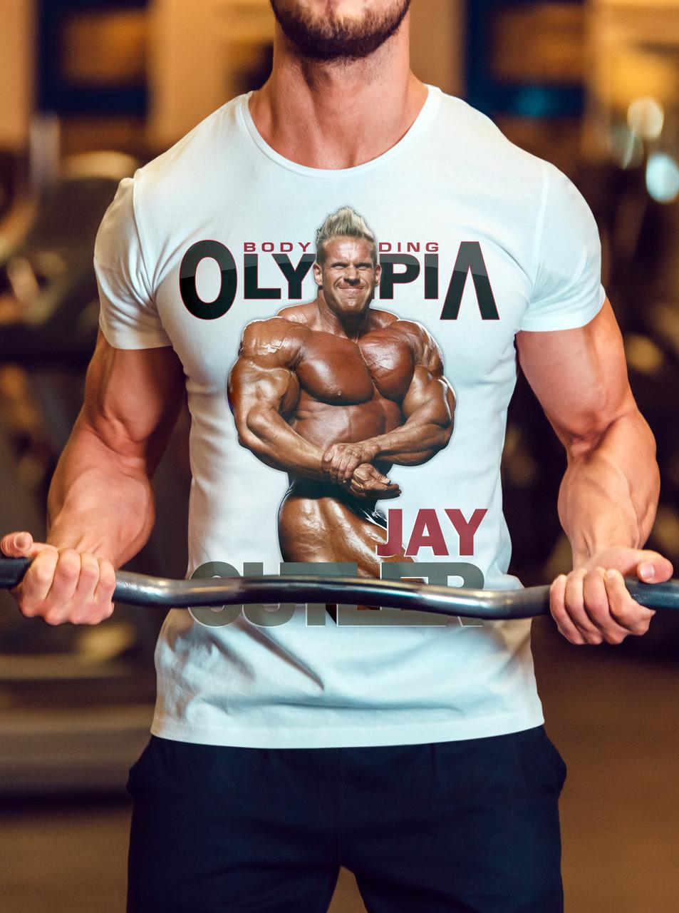 "Мужская футболка ""Mr.Olimpia Jay Cutler"""