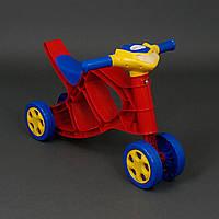 Машинка толокар Мини Байк музыкальный. Детский транспорт, машина для детей от 1 года
