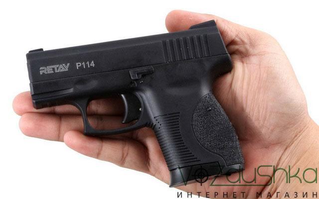 Retay P114 в руке