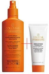 Набор для загара Collistar (молочко-спрей для загара + восстанавливающий бальза