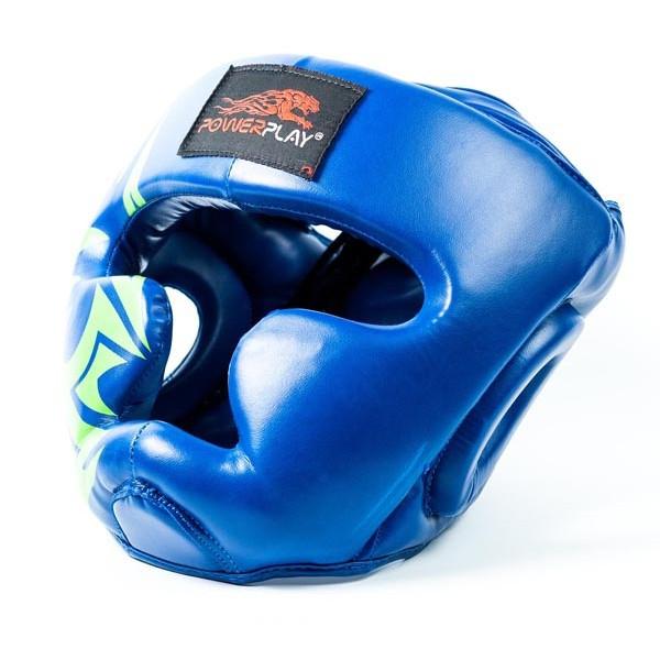 Боксерский шлем PowerPlay 3043 Blue