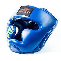 Боксерский шлем PowerPlay 3043 Blue, фото 1
