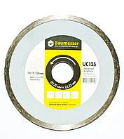Алмазный диск Baumesser 125 мм (керамическая плитка, травертин, мрамор)