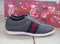 Женские кроссовки оригинал GUCCI   черного цвета, черный цвет, гучи, металлик