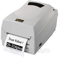 Настільний принтер етикеток Argox OS-214TT Plus, фото 1