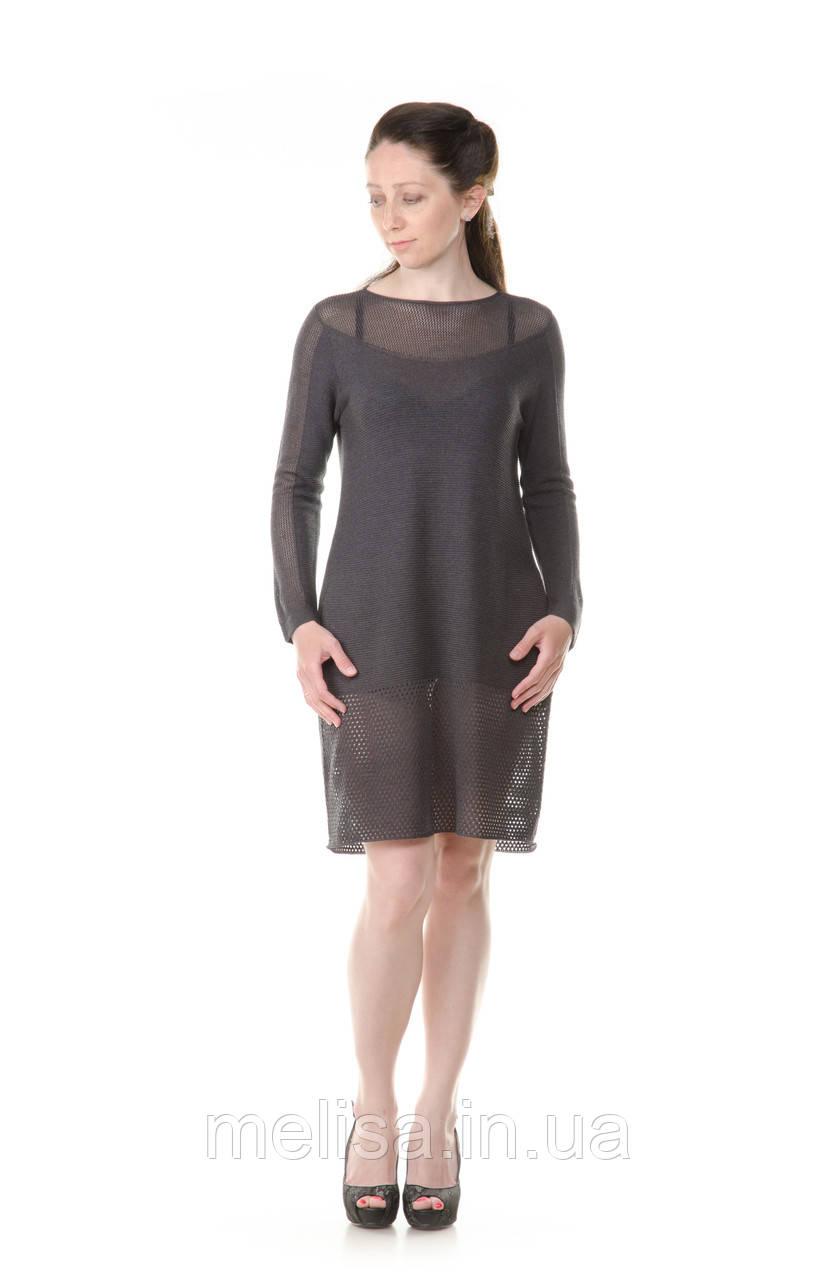 5baa18f9839 Купить Платье-туника вязаное в Украине