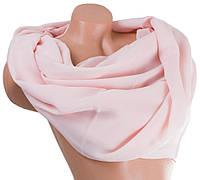 Модный женский шифоновый шарф 180 на 71 см BILEM (БИЛЕМ) SAT17299 розовый