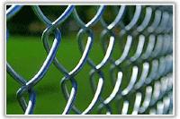 Забор из сетки Рабицы цена, установить забор из рабицы под ключ, фото 1